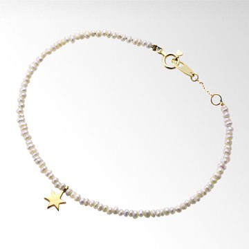 STAR JEWELRY Girl GIRL'S STAR PEARL BRACELET