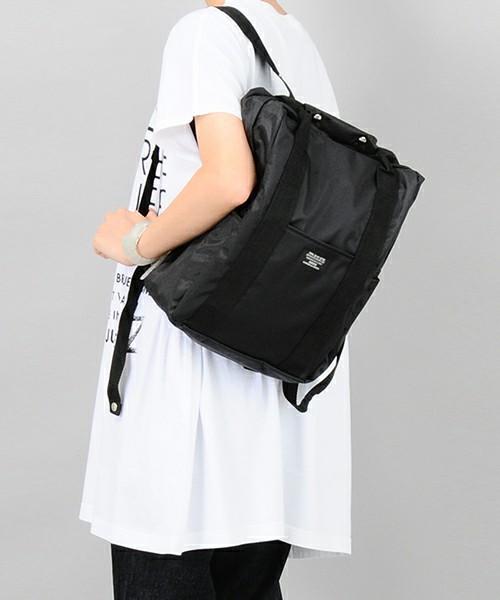 WEB別注】(S)ナイロンスクウェアバッグ