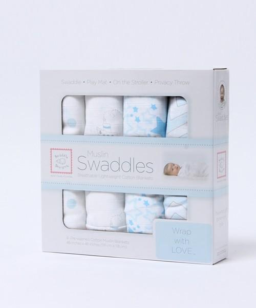 【Swaddle Designs/スワドルデザインズ】 Swaddle Duo/おくるみ2点セット