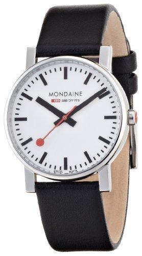 [モンディーン]MONDAINE 腕時計 エヴォ メンズ ホワイト文字盤
