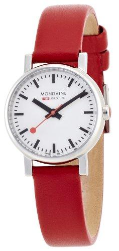 [モンディーン]MONDAINE 腕時計 エヴォ レディース ホワイト文字盤