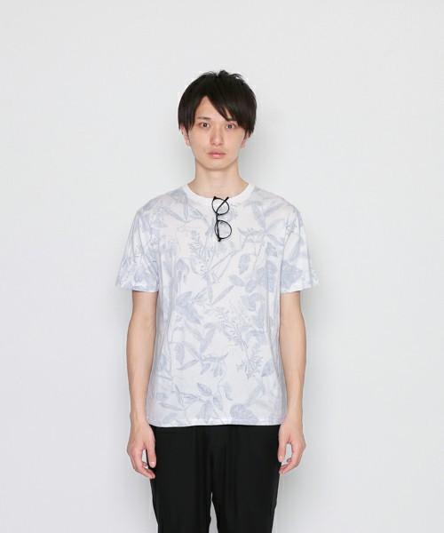 B裏刷りボタニカルTシャツ(半袖)プラント