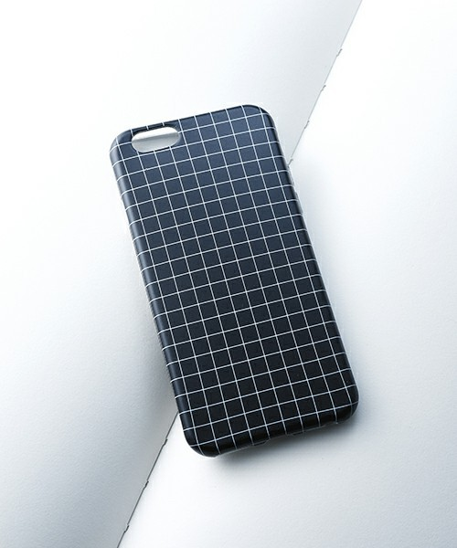 ウィンドウペンチェックIPHONE6/6Sケース/WINDOWPANE CHECK IPHONE6/6S CASE