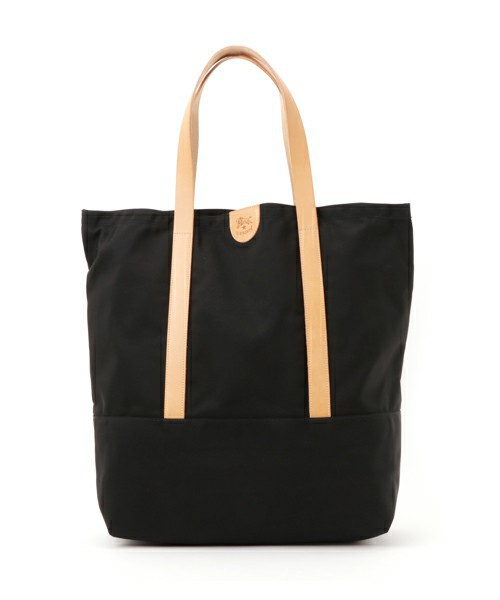 IL BISONTE / NYLON x ORIGINAL LEATHER / TOTE BAG