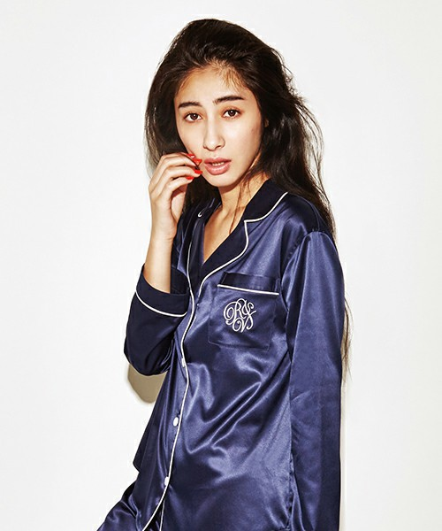 ALL DAY SATIN SLEEPシャツ