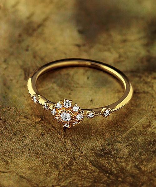 ◆数量限定◆【2016年限定】K18ダイヤモンドリング