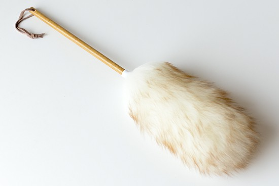 ニュージーランド/ダスター/天然羊毛100%のホコリ取り(L)