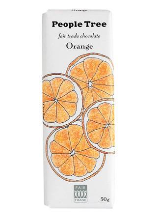 フェアトレード・チョコレート オレンジ 50g